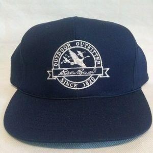Vintage Eddie Bauer Outdoor Snapback Hat New Rare